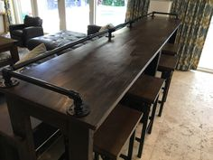 Table Behind Couch, Conference Room, Projects, Furniture, Home Decor, Log Projects, Blue Prints, Decoration Home, Room Decor