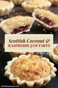 Tart Recipes, Sweet Recipes, Baking Recipes, Cookie Recipes, Dessert Recipes, Dessert Tarts, Coconut Recipes, Sweet Pie, Sweet Tarts