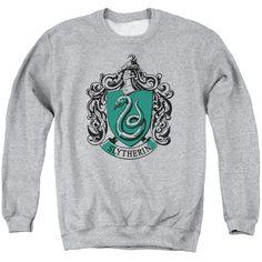New Sweatshirt Man Style Harry Potter Ideas Harry Potter Shoes, Harry Potter Style, Harry Potter Outfits, Sweatshirt Refashion, Crew Neck Sweatshirt, T Shirt, Slytherin Clothes, Mens Sweatshirts, Slytherin Pride
