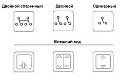 обозначение проходного выключателя с двух и трех мест Logos, Electronics, Logo