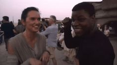 New Star Wars: The Force Awakens Featurette: Finn's Adventure. - Star Wars News Net Rey Star Wars, Star Wars Cast, Rey And Finn, Writing Pictures, John Boyega, War Film, Star War 3, The Force Is Strong, Superhero Movies