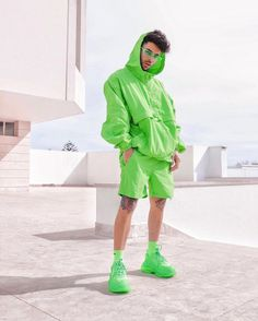 For sale Balenciaga Triple S Trainers Neon Green Recommended For You Soft Grunge Outfits, 90s Fashion Grunge, Indie Fashion, Urban Fashion, Streetwear Fashion, Mens Fashion, 90s Grunge, Style Fashion, Pastel Grunge