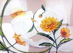 기초디자인 꽃 - Google 검색