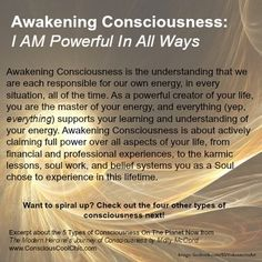 Power up, spiral up, claim your soul's energy! Awakening Consciousness ~ Click for even more Conscious Soul Growth with Molly McCord -