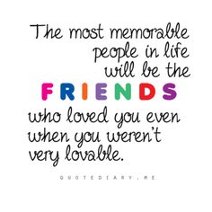 <3 all the friends I have made along the way, even those I may not spend much time with!