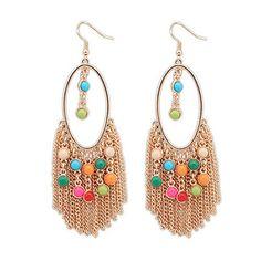 Bling Bling, Crochet Earrings, Drop Earrings, Jewelry, Fashion, Moda, Jewlery, Bijoux, Fashion Styles