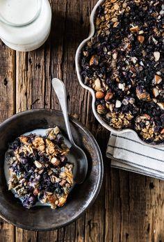 Recipe ~ Blueberry Banana Baked Oatmeal ~ via the Pastry Affair
