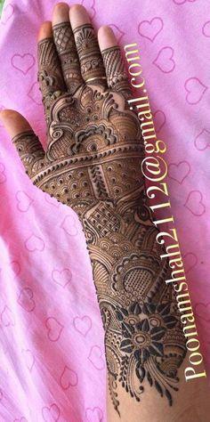 Hena Designs, Bridal Henna Designs, Unique Mehndi Designs, Beautiful Henna Designs, Beautiful Mehndi, Mehndi Tattoo, Henna Tattoo Designs, Mehndi Art, Henna Mehndi