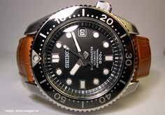 Seiko 300M Marine Master - Solid stainless steel case, automatic mechanical…