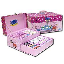 El kit para dibujar y colorear de la cerdita más divertida :-)