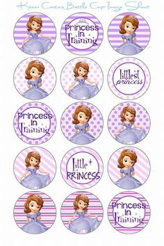 candy bar princesa sofia - Buscar con Google