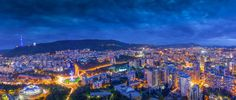 I Climbed To The 33rd Floor To Show You The Beauty Of A Night In Tbilisi   Giorgi Isakadze