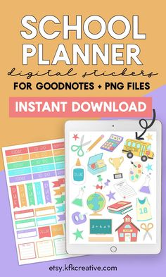 Plan out your school days and schedule with these School Planner stickers! These digital stickers are a beautiful and fun way to decorate your planners! Get these here! #resourcesforteachers #teacherstickers #teacherstickersorganization #planning #teacherstickersstudent #plannerstickers #journal #plannerdecorating #bulletjournal #digitalstickers #digitalplanner #goodnotes #notability #schoolstickers #schoolplannerstickers Teacher Hacks, Math Teacher, Teacher Resources, Back To School Teacher, School Days, Teacher Stickers, School Planner, Planner Decorating, Good Notes