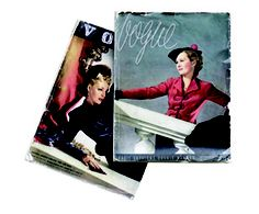 Early issues of Vogue September 1935 - August 1938