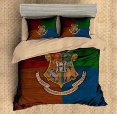 3D Customize Harry Potter 4PCS Duvet Cover Set Bedding Set Flat Sheet Pillowcases Bedlinen - Three Lemons Hometextile