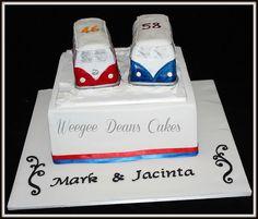 VW combi van wedding cake | Flickr - Photo Sharing! #kombilove