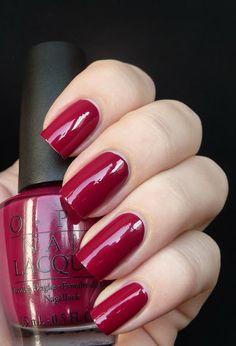 My #1 favorite nail color! OPI Manicurist Of Seville