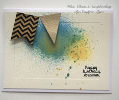 Wine, Cheese and Scrapbooking: Happy Birthday Dreamer