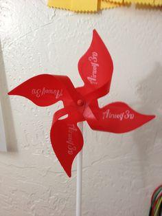 3D Printable Pinwheel by SteveC.