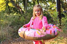 Easy Kid's Doughnut Costume