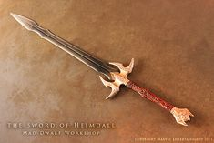 Sword of Heimdall - for the movie THOR 1