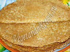 Заварные блины на кефире готовятся без яиц, получаются тоненькие и очень вкусные. Пошаговый рецепт с фото блинов на кефире без яиц.