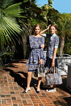 Our must-have print for the season   Tory Burch Resort 2014