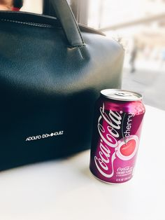 My crush con la Coca Cola Cherry #coke #cherry #soda #style #photo #blogger