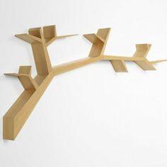 decovry.com - Olivier Dollé | Bookshelf Tree Branch Oak