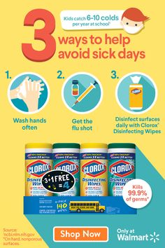 17 Best Back-To-School | Clorox images in 2019 | Back to