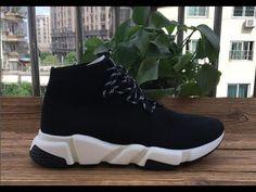 5122e9ba1b682 Balenciaga Speed Sock Sneakers black color HD review from aj23shoes net.  BalenciagaAir JordansYoutubeFashion ShoesSocksSneakersNikeTennisSlippers