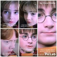 My edit for if Harry was secretly gay Harry Ptter, Harry Potter Birthday, Gay, Hilarious, Hilarious Stuff, Funny