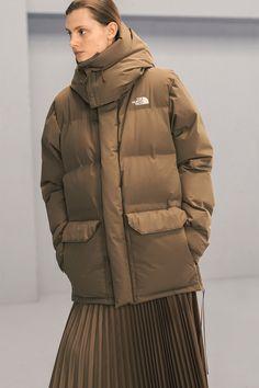 ae3ba58c20 The North Face x HYKE Fall Winter 2018 Lookbook Outerwear Jackets Puffers  Silhouette Streetwear FW