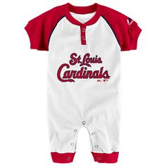 "Majestic MLB Infant Chicago White Sox /""Game Time/"" Coverall"