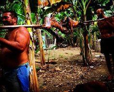 Chivo Asado #cuba #baracoa #excursion #cocinacubana #travel