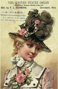 1217 Best Hats of the Past - Women s images in 2019  2dd3b92db48