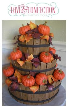 Autumn Baskets - Cake by With Love & Confection