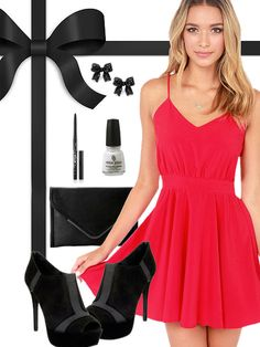 1d2ef3c89 Sexy Tampa Bay Buccaneers Inspired Date Night Look Holiday Party Dresses