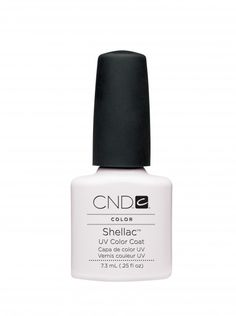 CND Cream Puff Shellac. Bright white for french