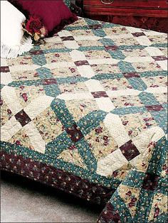 Quilting - Bed Quilt Patterns - Patterns for Classic Designs - Home Front Quilt