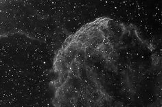 IC443, the jellyfish nebula, a supernova remnant in Gemini