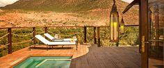 Private pool, suite deck, Kasbah Tamadot, Morocco, Marrakech, Luxury honeymoon, Top honeymoon destination, Sir Richard Branson retreat