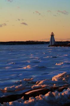#Lighthouse embracing the cold on Prince Edward Island, #Canada    http://dennisharper.lnf.com/