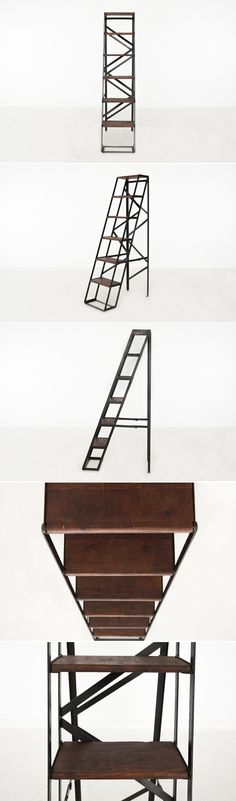 Ladder styled shelvi