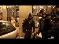 """""""Me cago en tu puta madre policía de los cojones"""" Madrid #29S"""