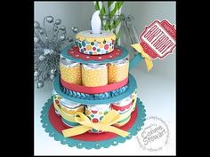 Thank you so much for using the August Hostess Code! I hope you enjoy this month's LET'S GET CREATIVE exclusive video and tutorial for the Hershey Nugget Bir. Candy Cakes, Candy Favors, Candy Gifts, Quilling Paper Craft, Paper Crafts, Birthday Treats, Birthday Cake, Hershey Nugget, Hershey Kisses