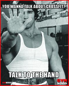 Arnie – Talk to The Hand