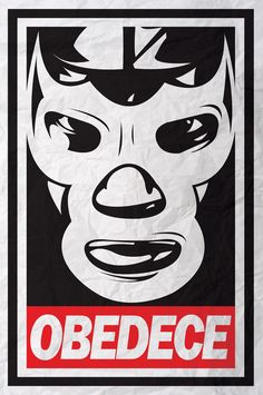 Mexican wrestling inspiration