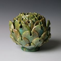 Small Artichoke (2014) by Kate Malone - Adrian Sassoon