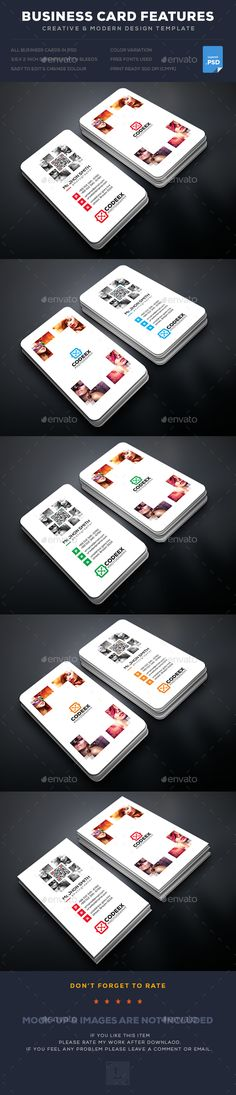 Creative Photography Business Card Design Template - Business Cards Template PSD. Download here: https://graphicriver.net/item/creative-photography-business-card/17681027?ref=yinkira